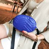 Oval line mini female bag