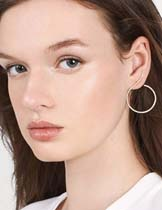 pure color earrings