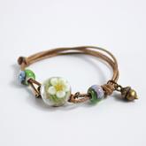 Simple hand woven trinkets ceramic ornaments bracelet