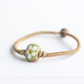 Etsy Bohemian ceramic bracelet