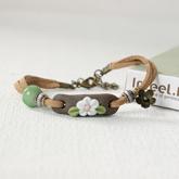 Small fresh ceramic bracelet women hand