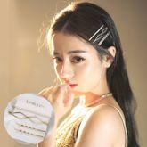 Korean metal pearl hairpin combination