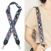 Geometry Pattern Strap Bag