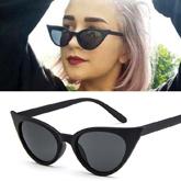 Retro cat eye small frame sunglasses
