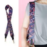 Customized Color Bandwidth Shoulder Strap Non-Adjustable Color Strap Bag