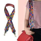 Multicolor Strap Bag