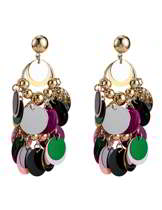 color matching earrings