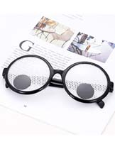 grids pattern glasses