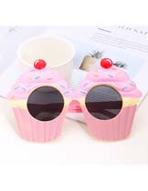 cake shape glasses