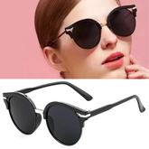 Retro strip sunglasses