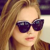 Retro baby  cat eye sunglasses