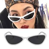 retro cat eye star sunglasses