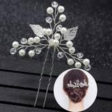 Bride Hairpinswedding Style Hair Accessories Headdress