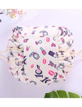 lips pattern cosmetic bag