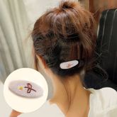 Autumn and winter new retro national wind hair clips hand-embroidered