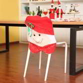 cartoon simling face shape decorated three-dimensional Chair Cover
