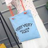 letter VERY canvas bag