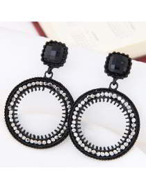 circular ring earrings