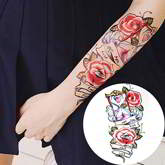 large waterproof men and women durable arm tattoo stickers
