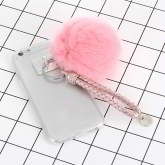 Pompom fuzzy ball iphone7 case