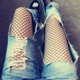 Forever21 grid fishnet stcoking