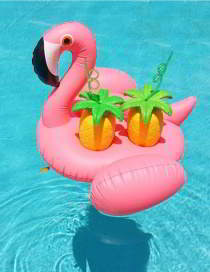 Forever21 flamingo four cup base
