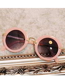 round shape children sunglasses