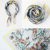 scarf fashion simple square
