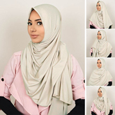 Pashmina Instant ALMEIRA 2 Face Double Loop 5 in 1