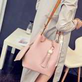 Messenger Shoulder Tassel Handbag